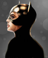 Catwoman by RedSaucers