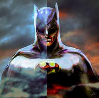 Batman by RedSaucers
