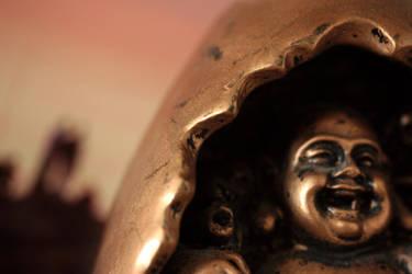 Laughing Buddha by sad-roses