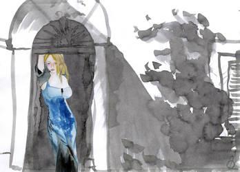 Muse in Doorway by sad-roses
