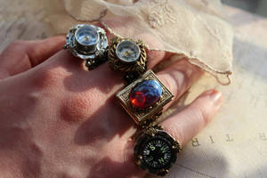 Dragon Breath Locket Ring by artistiquejewelry