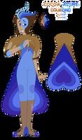 Cocoa-Azure Diamond - Bi-Color Diamond by VikingEggs