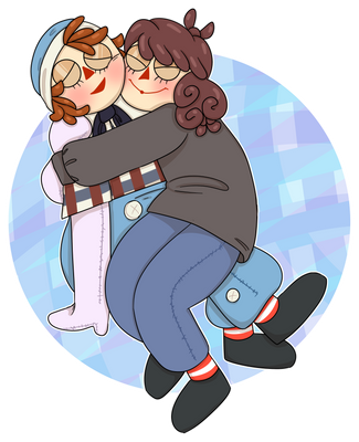 Art Trade - Soft and Squishy Dollies by VikingEggs