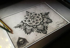 under boob mandala sketch by pande-lee