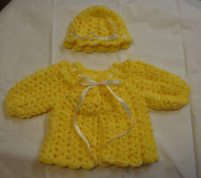 Baby sweater by Crochet-by-Clarissa