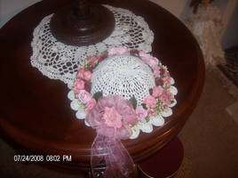 Wall bonnet by Crochet-by-Clarissa