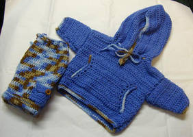 Boys hoodie and cargo pants by Crochet-by-Clarissa