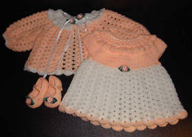 Peaches and Dreams by Crochet-by-Clarissa