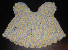 Sweetpea Baby Dress by Crochet-by-Clarissa