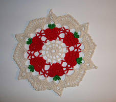 Apple Doily by Crochet-by-Clarissa