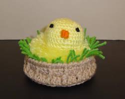 Bitty in a Basket by Crochet-by-Clarissa