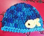 Crochet newborn baby hat by Crochet-by-Clarissa