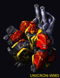 Mastermind Creations Fortis Biocard art by UNICRON-WMD