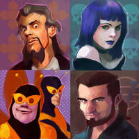 Venture Bros Series 3 by Phobos-Romulus