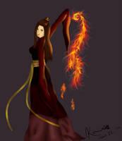 Fire Bender Elegance by Kureemy
