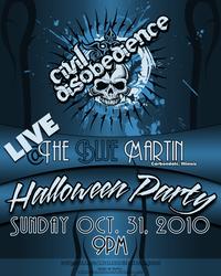 Halloween Gig Poster by DigitalPhenom
