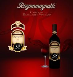 Rozommognatti Wine Label by DigitalPhenom