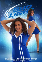 Bud Light Promo Poster by DigitalPhenom