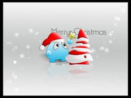 Skwubys First Christmas by DigitalPhenom