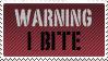 Warning:I BITE by KorineForever