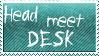 Head Meet Desk by KorineForever