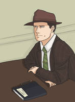 L.A. Noire - Bored at work by neollus