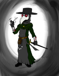 Plague Doctor (Colored) by MikesConcepts