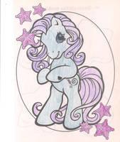 My boyfriend did this pony by Zanny-Marie