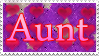Comm Family Stamp Aunt by Zanny-Marie