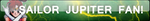 Comm Sailor Jupiter Fan Button by Zanny-Marie