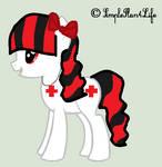 Zanyella as a pretty Pony by Zanny-Marie