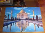 Taj Mahal, India by Zanny-Marie