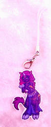 Unicorn Acrylic Charm by ami-nomiko