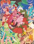 Tokyo Mew Mew Splash Page by EnvySkort