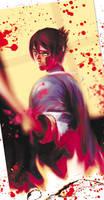 Okita Souji from Hakuoki by dziqker
