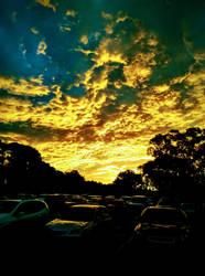 The Australian dusk by JK1524
