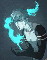 Blue Flame by Zombiesmile