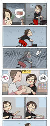 Rainy Day by Zombiesmile