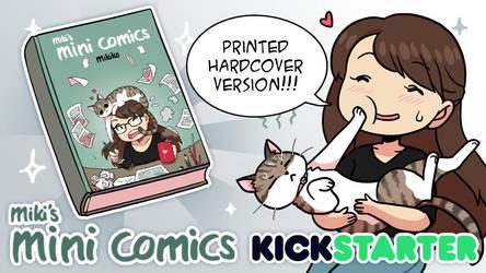 Mini Comics Kickstarter! by Zombiesmile
