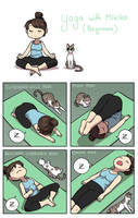 Yoga with Mikiko by Zombiesmile