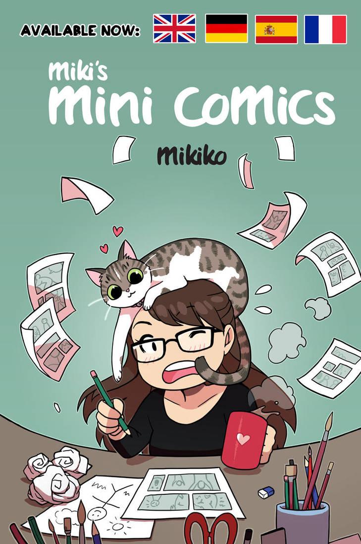miki's mini comics digital versions! by Zombiesmile