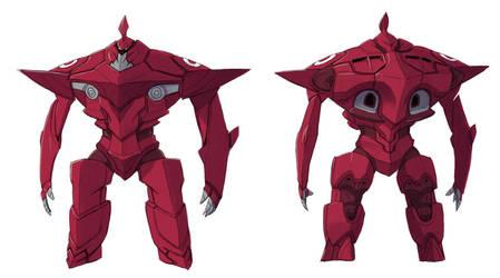 Titan Red by raipai