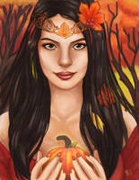 Autumn Queen by mallettepagan0