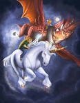 IF: Unicorn by mallettepagan0