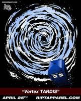 Vortex TARDIS April 25th by zerobriant