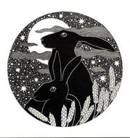Moon Hares by TootieFalootie