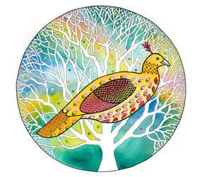 Easter Bird by TootieFalootie