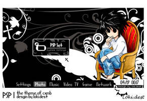 PSP theme Night by lokidest
