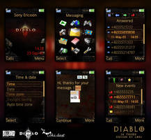 Sony Ericsson Theme - DIABLO by lokidest