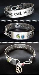 The Cat Whisperer Bracelet by tinkerSue